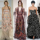 Prettiest Dresses and Gowns from Fashion Week 2014