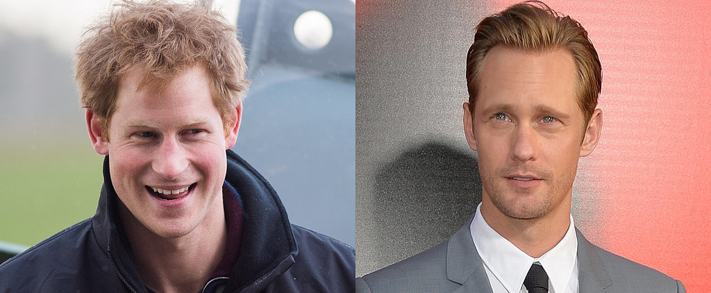 What It's Like to Be Trapped in a Tent With Prince Harry and Alexander Skarsgard