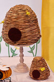 DIY Bee Skeps