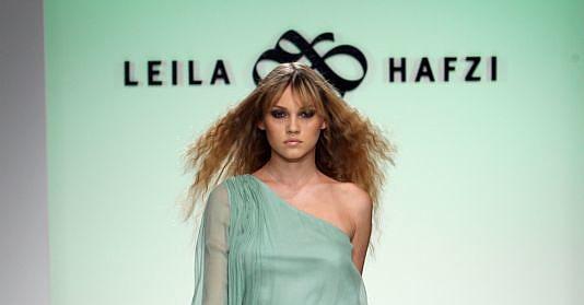 Los Angeles Fashion Week: Leila Hafzi Spring 2009