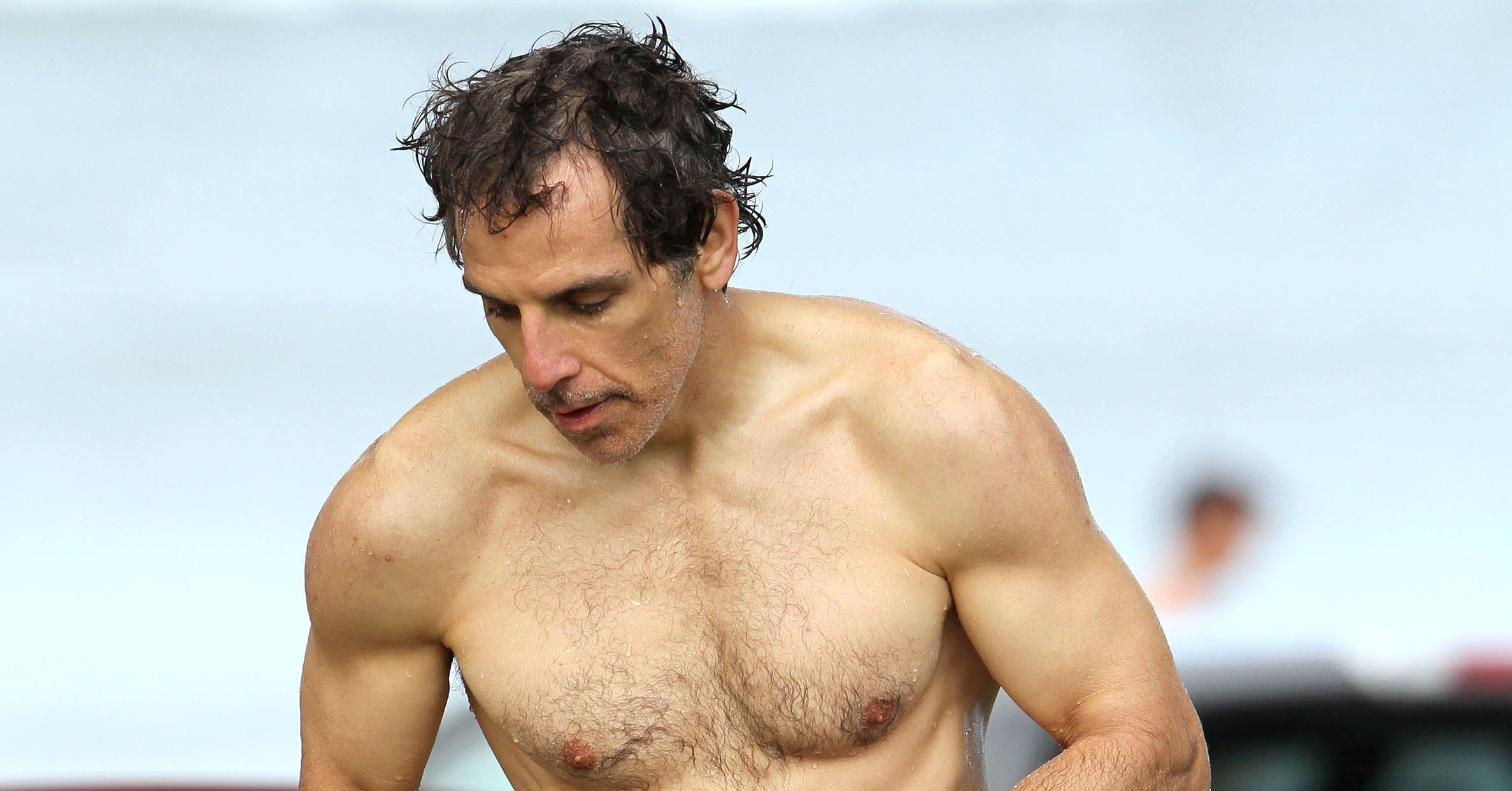 Ben Stiller showed off his six pack. | Ben Stiller Has ...