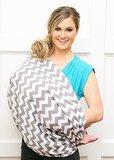 Itzy Ritzy Nursing Happens Infinity Breastfeeding Scarf