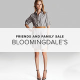 Bloomingdale's Friends and Family Sale 2014   Shopping