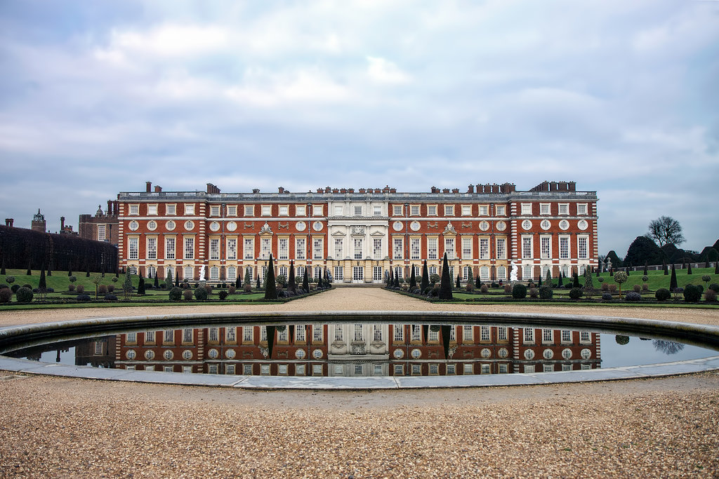 Hampton Court Palace, Surrey, England