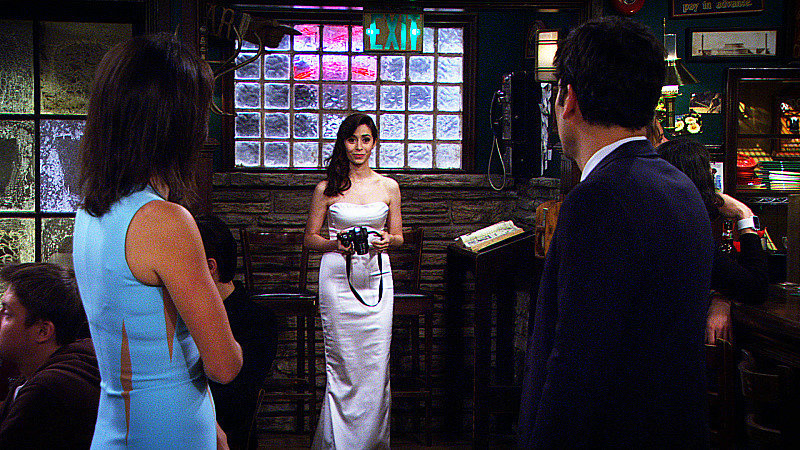 And in the finale, we finally get to see Ted and Tracy marry after several years of being together.
