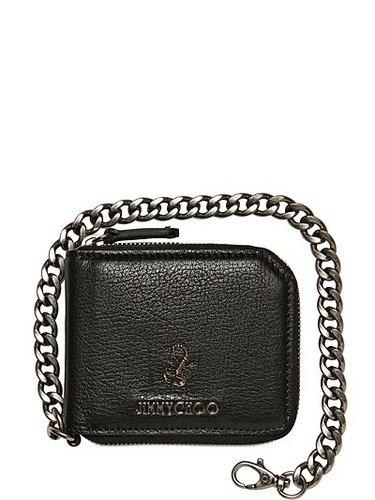 Jimmy Choo - Scorpion Soft Leather Chain Wallet