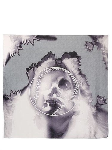 Givenchy - Woman Skull Printed Modal/Cashmere Scarf