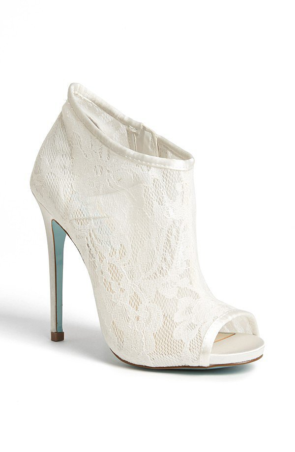 Betsey Johnson Lace Bootie