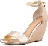 Seychelles Metallic Wedges