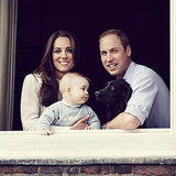 New Photo Of Prince George, Kate Middleton & Prince William