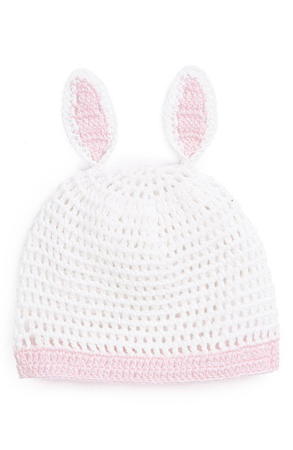 Mud Pie Bunny Crochet Hat