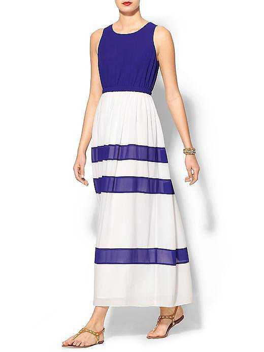 Wells Grace Colorblock Maxi Dress