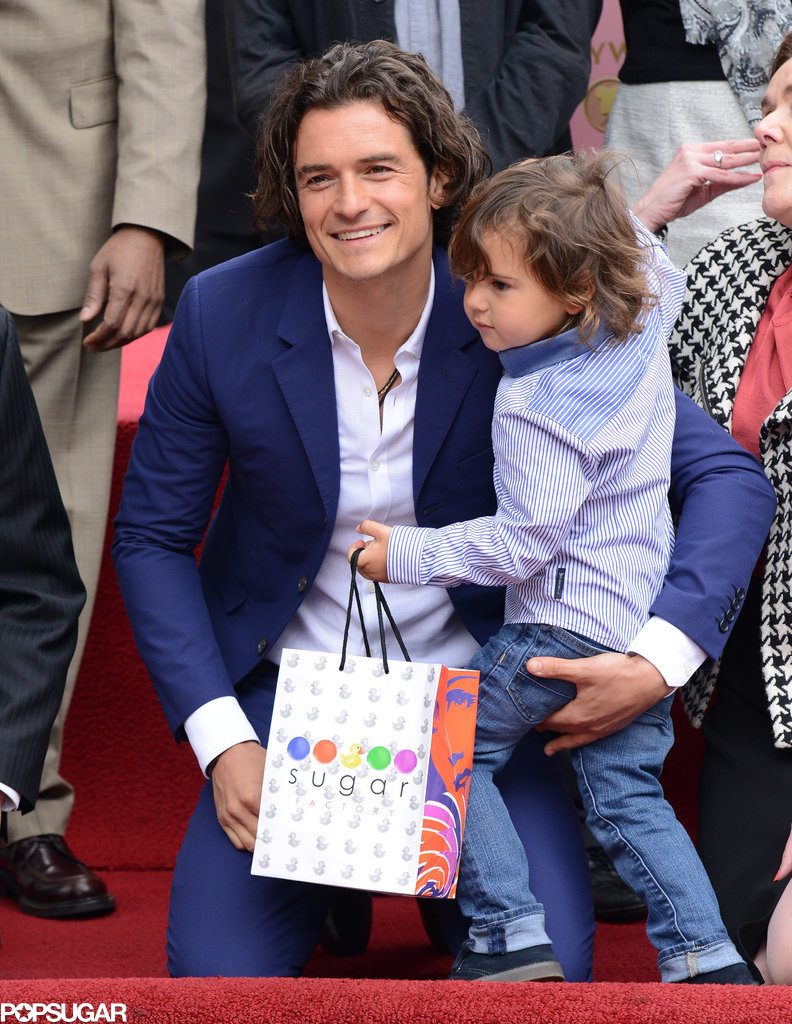 Orlando Bloom Gets Sweet Support From His Biggest Fan — Flynn!