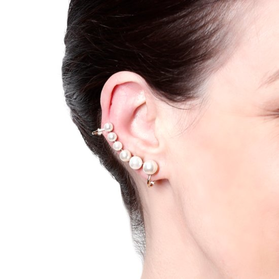 You Are Not Going to Believe the Price on This Pearl Ear Cuff!