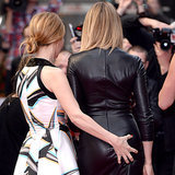 Leslie Mann Grabs Cameron Diaz's Butt on Red Carpet
