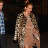 Sienna Miller Leopard Coat | Video