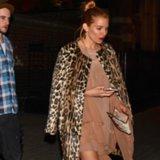 Sienna Miller Leopard Coat | Video