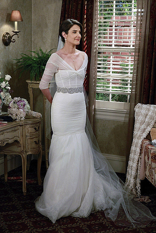 Robin and Barney's wedding is first touched on in the season-seven finale, when Robin is revealed as Barney's bride.