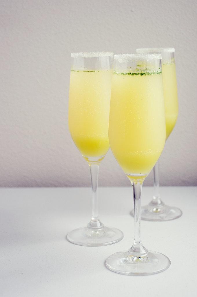 Limoncello Champagne Cocktails