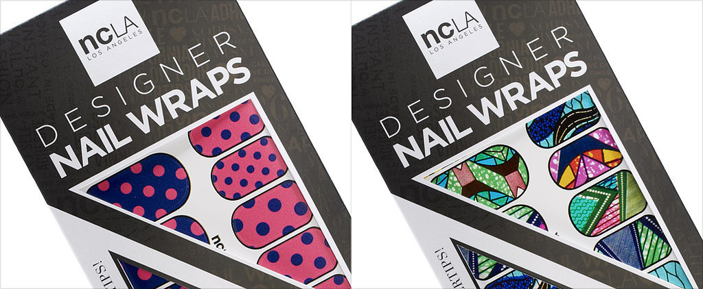 Decorate Your Digits With These Party-Print Nail Wraps