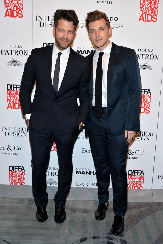 Nate Berkus and Jeremiah Brent