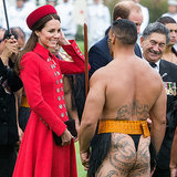 Fotos von Kate Middleton und Prinz Williams in Neuseeland
