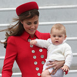 Prince William, Kate Middleton and George Start Royal Tour