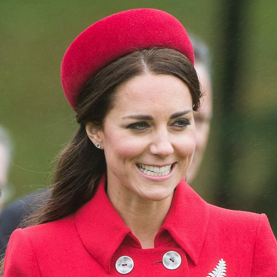 The Duchess of Cambridge's Blowdry Has a Windy Start to the Tour
