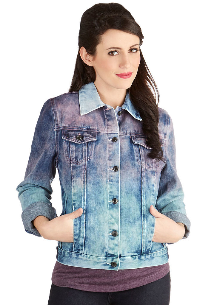 ModCloth Color Up Ombré Jean Jacket