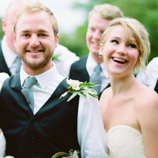 Jennifer Lawrence as a Bridesmaid in Her Brother's Wedding
