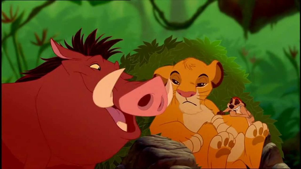 """Hakuna Matata,"" The Lion King"