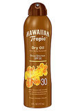 Hawaiian Tropic Protective Dry Oil Clear Spray Sunscreen