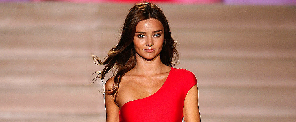Miranda Kerr Knows the Power of the Plank