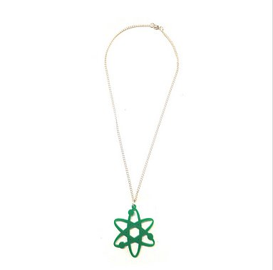 Big Bang Theory Atom Necklace