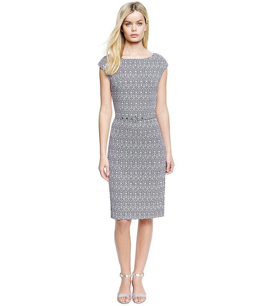 Tory Burch black-and-white printed Jamie dress ($395)