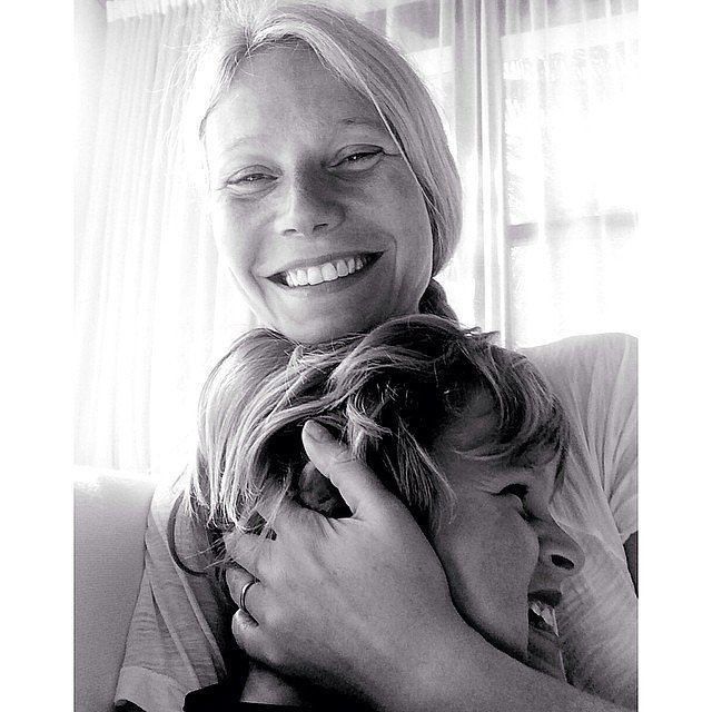 Gwyneth Paltrow cozied up with her son, Moses, who just turned 8! Source: Instagram user gwynethpaltrow