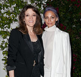 Nicole met with Marianne Williamson at the press event.