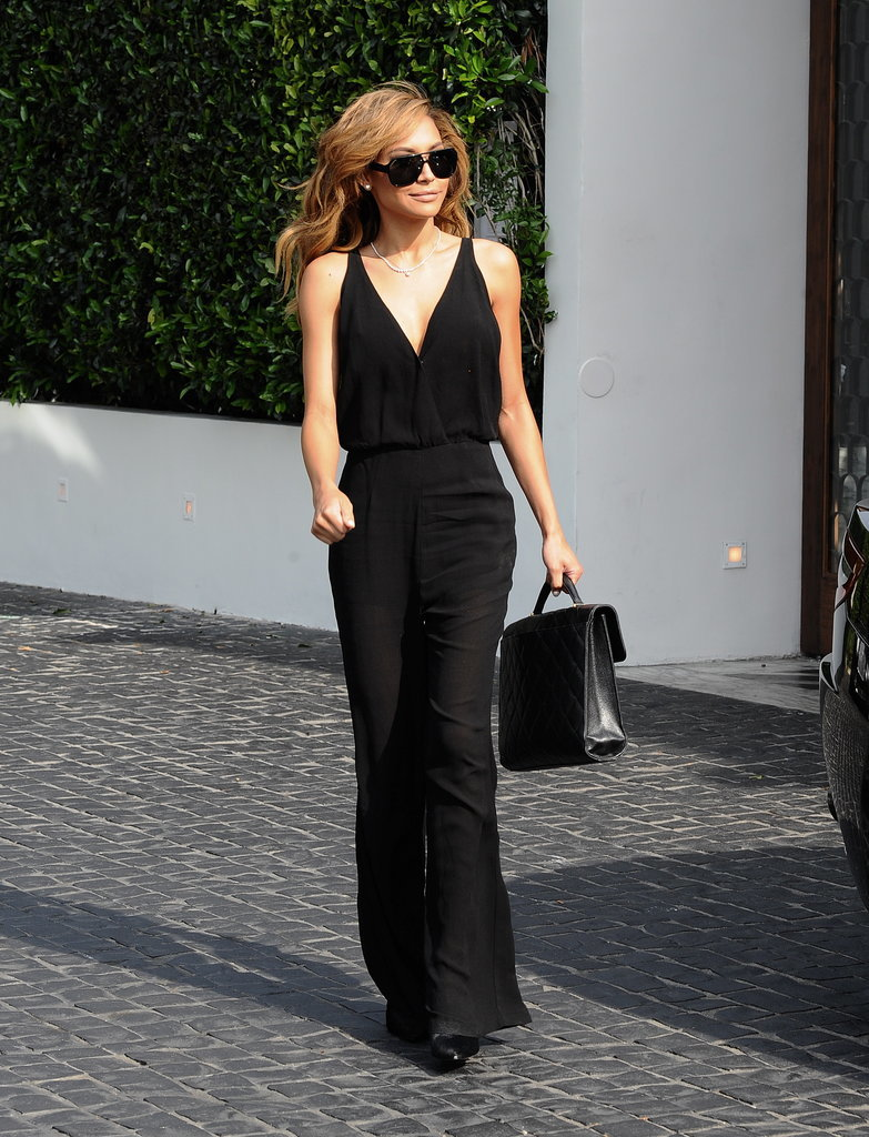 Naya Rivera's black jumpsuit is a testament to just how posh they can look.