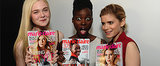 Lupita Nyong'o and Elle Fanning Lead the Style Pack Today on POPSUGAR Live!