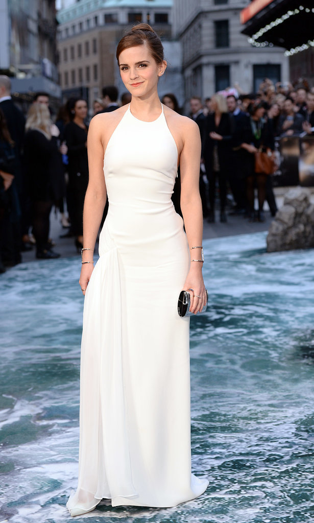 Emma Watson in Ralph Lauren Collection at 2014 Noah UK Premiere