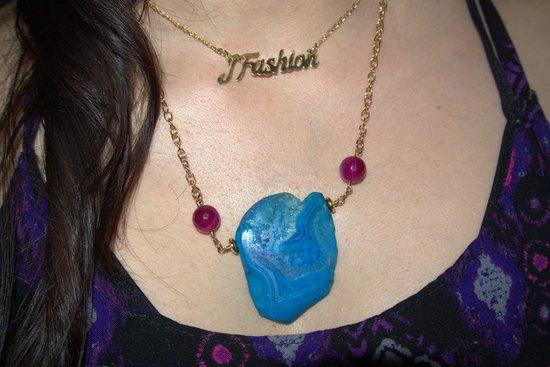 Capas de collares: collar personalizado y collar con agatha #Jfashionblog