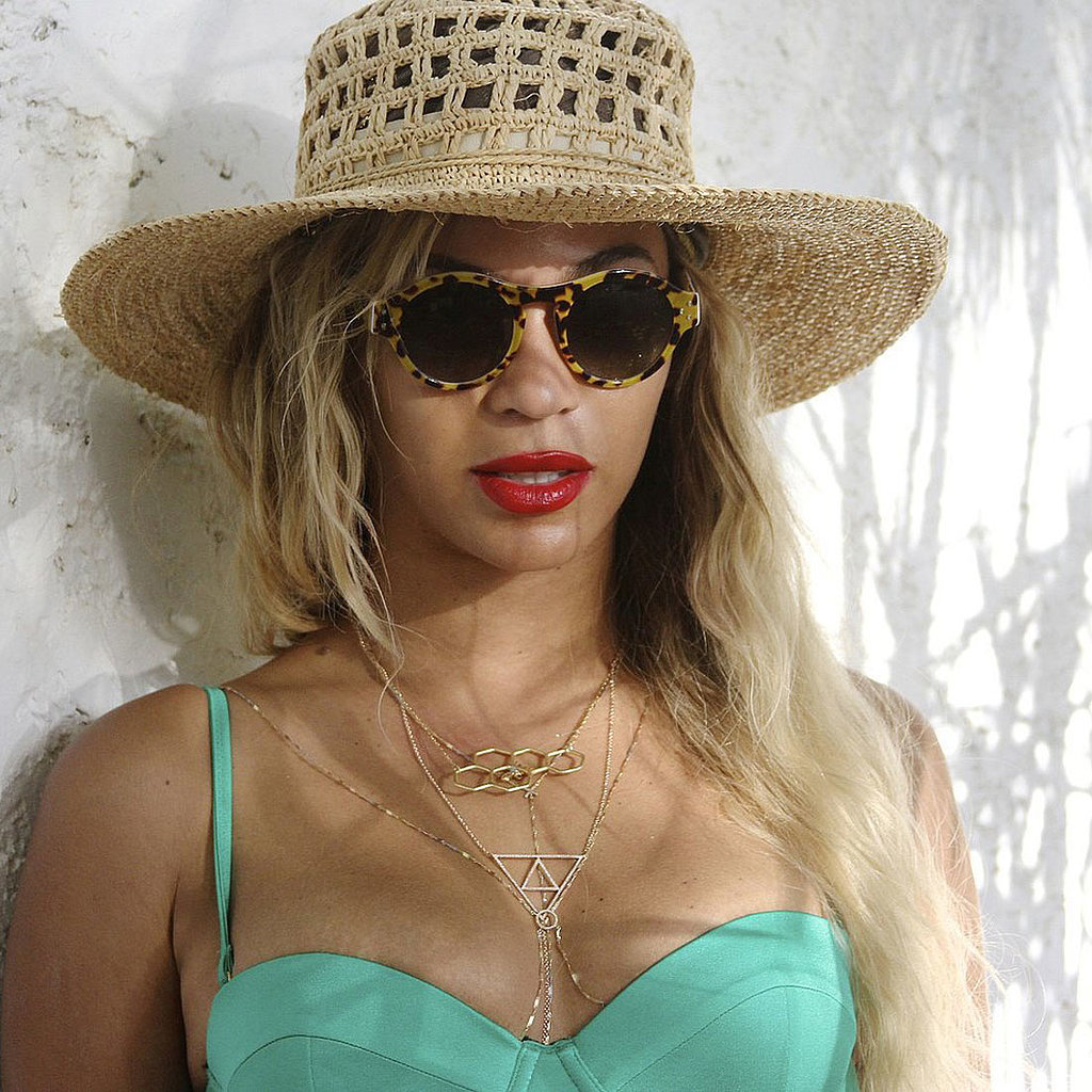 Beyonce Vacation Pictures | Shopping