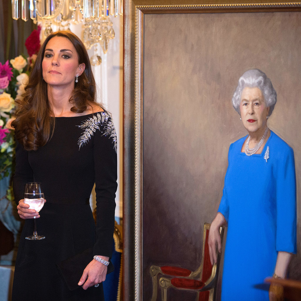 Don't look too excited, Kate!