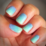 This Ombré Nail Art Has Us Dreaming of Summer Vacation