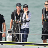 Prince William and Kate Middleton Casual in Auckland