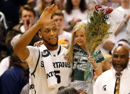 The Little Michigan State Fan Who Warmed Our Hearts Has Passed Away