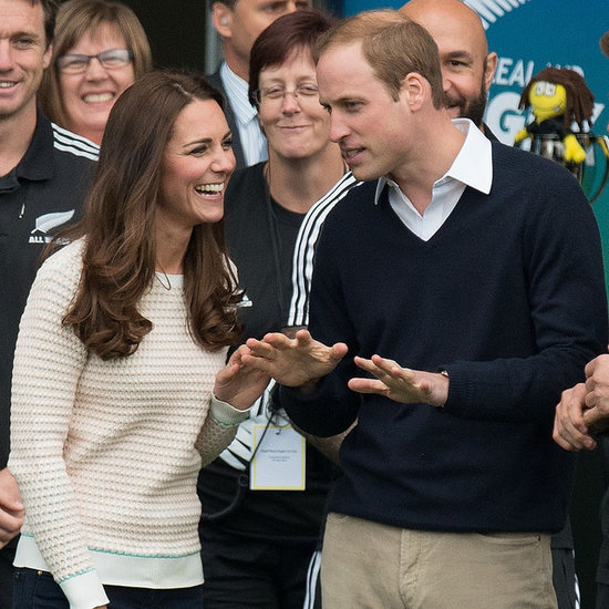 Kate Middleton and Prince William in Dunedin, New Zealand