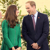Prince William and Kate Middleton in Hamilton, New Zealand
