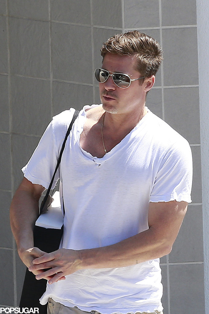 This Is How Brad Pitt Reacts to Getting a Parking Ticket