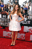 Chrissy Teigen at the 2014 MTV Movie Awards